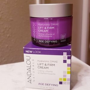 ANDALOU Lift and Firm cream.